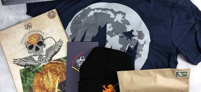 Geek Gear World of Wizardry September 2018 Subscription Box Review + Coupon