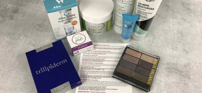 COCOTIQUE September 2018 Subscription Box Review + Coupon