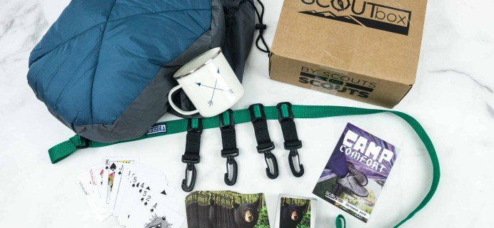 SCOUTbox October 2018 Subscription Box Review + Coupon