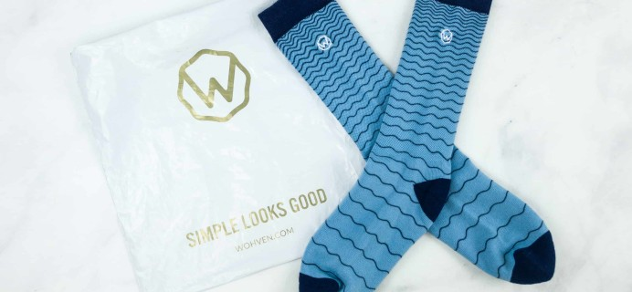 Wohven Socks Subscription October 2018 Review + Coupon!