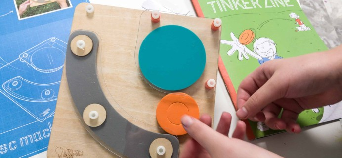 Tinker Crate September 2018 Review & Coupon – FLYING DISC MACHINE