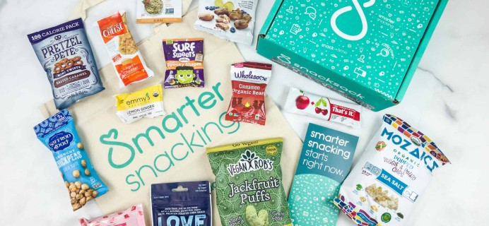 SnackSack October 2018 Subscription Box Review & Coupon – Classic