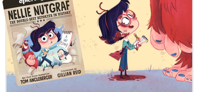 Epic! Kids Books – Nellie Nutgraf Original Epic! Series+ Free Month Coupon!