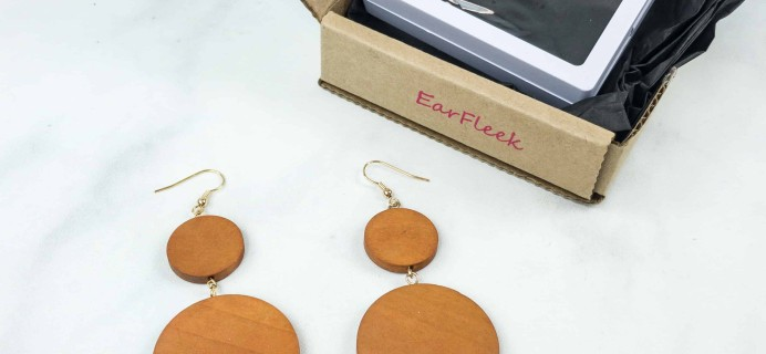 EarFleek Premium Boho Babe October 2018 Subscription Box Review + Coupon