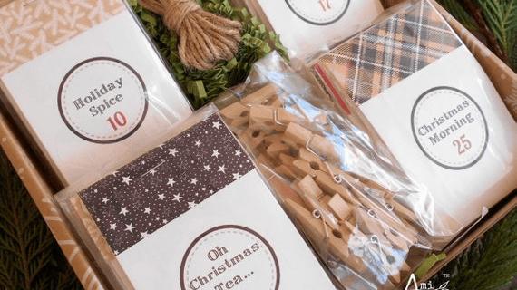 Amitea Organics Tea Advent Calendar Available Now + Full Spoilers!