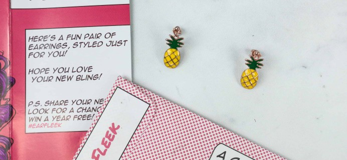 EarFleek Silly & Fun October 2018 Subscription Box Review + 50% Off Coupon