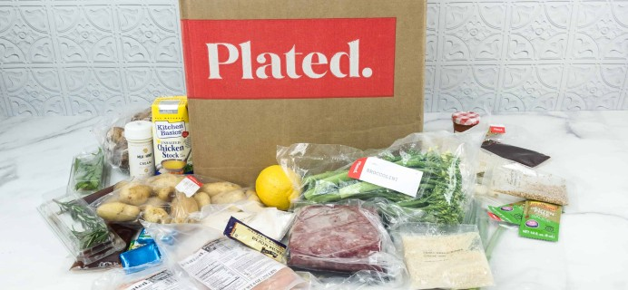 Plated October 2018 Subscription Box Review + Coupon