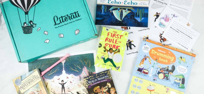 Literati Kids Club Sage Box Review + Coupon – October 2018