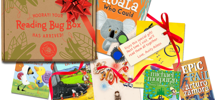 Reading Bug Box Coupon: Get FREE Squishable Plush With Any Personalized Box!