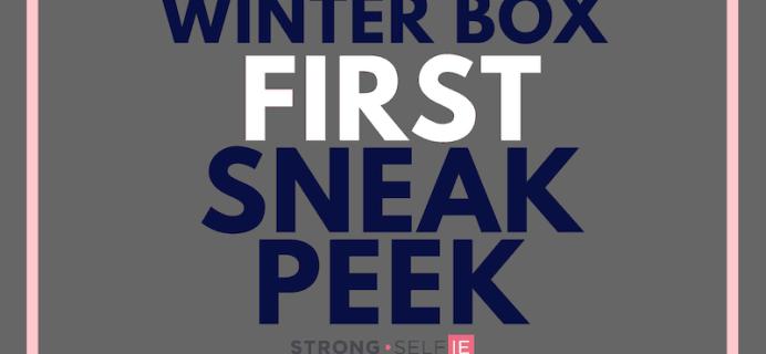 STRONG selfie Box Winter 2018 Spoiler #2 + Coupon!