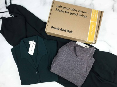 Frank And Oak Women's Style Plan October 2018 Review
