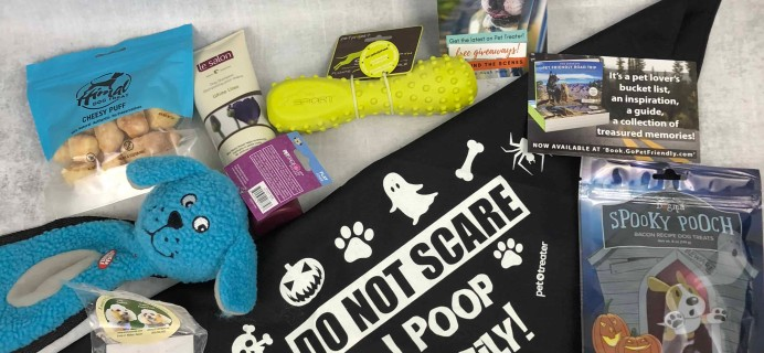 Pet Treater Deluxe Dog Pack Subscription Box Review + Coupon – October 2018