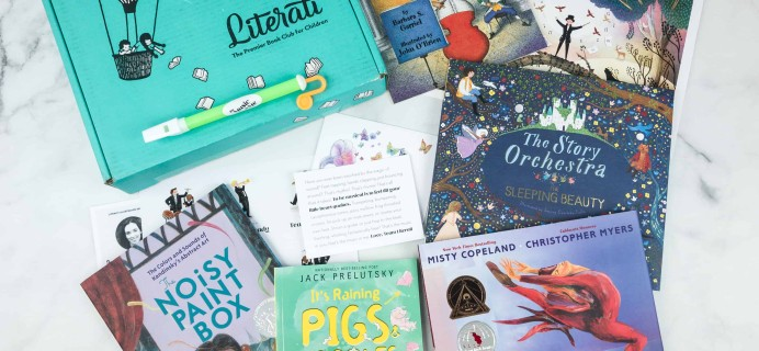 Literati Kids Club Nova Box Review + Coupon – October 2018