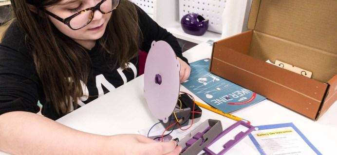 Tinker Crate October 2018 Review & Coupon – MOTOR POWERED MAZE
