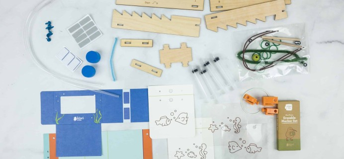 Kiwi Crate October 2018 Review & 40% Off Coupon – HYDRAULICS