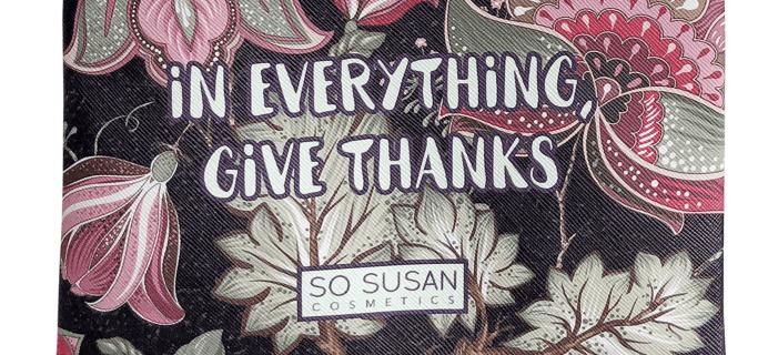 So Susan Color Curate November 2018 Full Spoilers & Coupon!