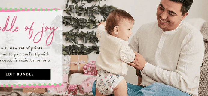Honest Company Diapers Winter Prints + $20 Off First Bundle Coupon!
