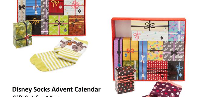 2018 Disney Socks Advent Calendars Available Now!