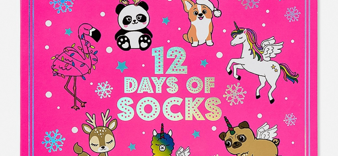 2018 Justice Socks Advent Calendar Available Now!