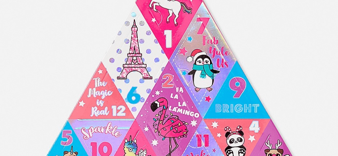 2018 Justice Beauty Advent Calendar Available Now!