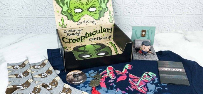 Loot Crate October 2018 Review + Coupons – CURSED