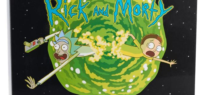 2018 Rick & Morty Socks Advent Calendar Available Now!