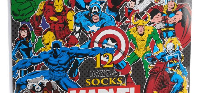 2018 Marvel Socks Advent Calendar Available Now!