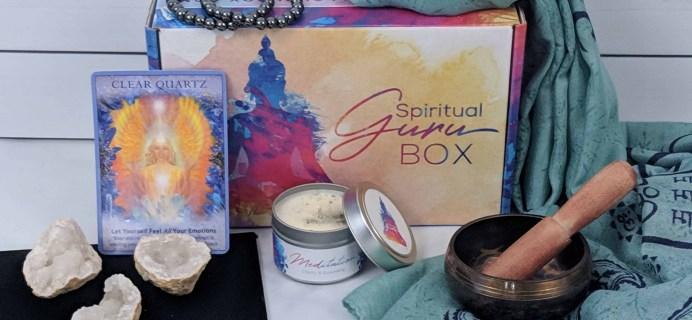 Spiritual Guru October 2018 Subscription Box Review