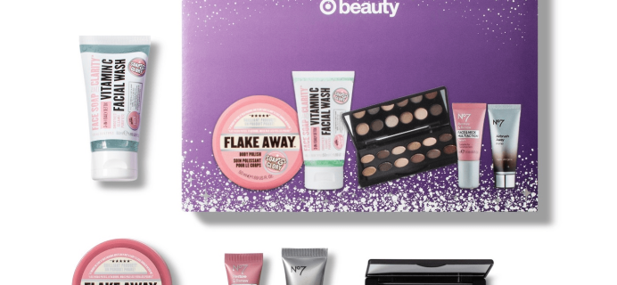 """Target Beauty Box Holiday Best of Boots """"Get The Royal Treatment"""" Box Available Now!"""