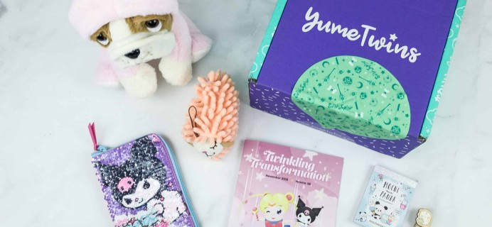 YumeTwins November 2018 Subscription Box Review + Coupon