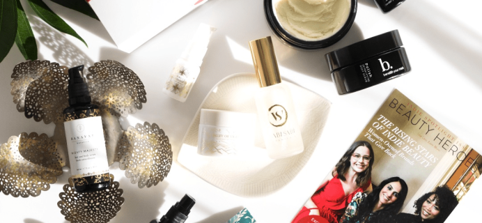 Beauty Heroes Limited Edition Indie Beauty Spotlight Discovery Boxes Available Now + Full Spoilers!