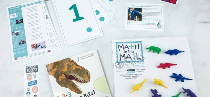 Math in the Mail Subscription Box Review