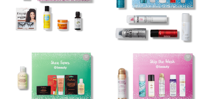 Target Beauty Box Holiday Hair Shampoo And Styling Sets Available Now!