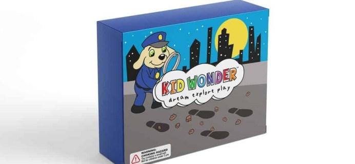 Kid Wonder Little Dreamers Box December 2018 Theme Spoilers + Coupon!