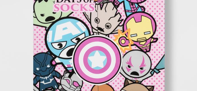 New 2018 Marvel Socks Advent Calendar Available Now!
