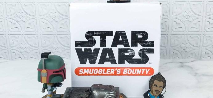 Smuggler's Bounty October 2018 Subscription Box Review – CLOUD CITY Box!