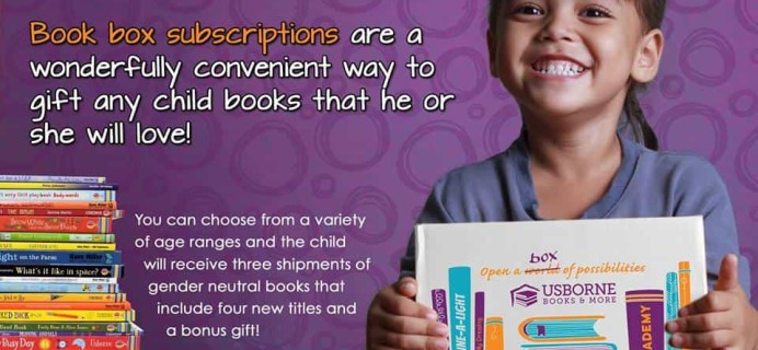 New Subscription Boxes: Usborne Books & More Book Boxes Available Now!