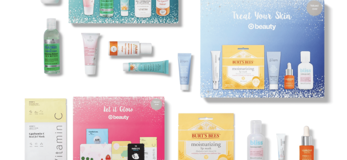 Even More Target Beauty Box Holiday Beauty Boxes Available Now!