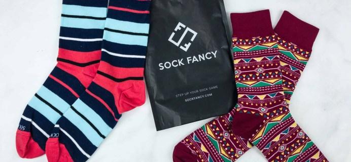 Sock Fancy Mens November 2018 Subscription Box Review + FREE Socks Coupon!