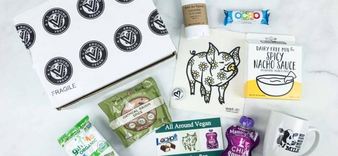 All Around Vegan Box November 2018 Subscription Box Review + Coupon