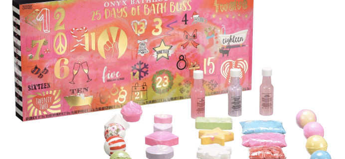2018 Onyx Bath Advent Calendar Available Now + Full Spoilers!