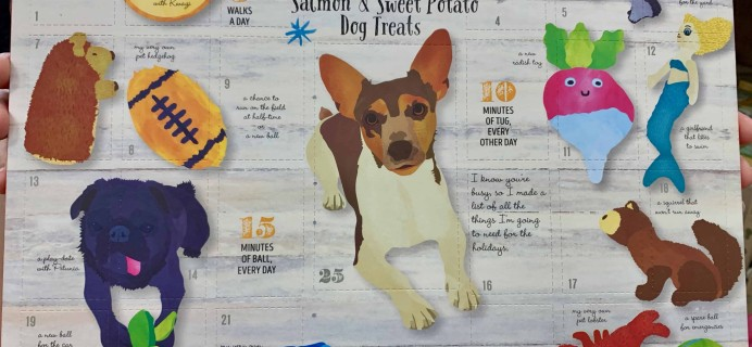 2018 Trader Joe's Dog Advent Calendar Available Now!