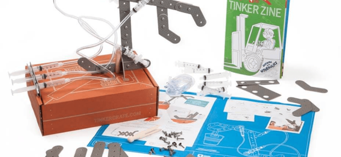 Tinker Crate Cyber Monday Coupon: First Box $7.95 Shipped!