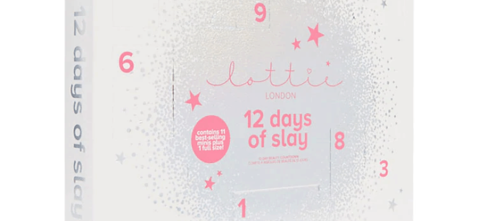 2018 Lottie London Beauty Advent Calendar Available Now!