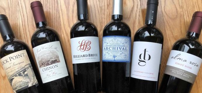 Blue Apron Wine Subscription Box Review – November 2018