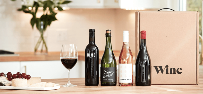 Winc Pre-Black Friday + Cyber Monday Coupon: Save $28 On First Box!