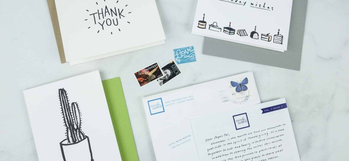 Nicely Noted November 2018 Subscription Box Review + Coupon!