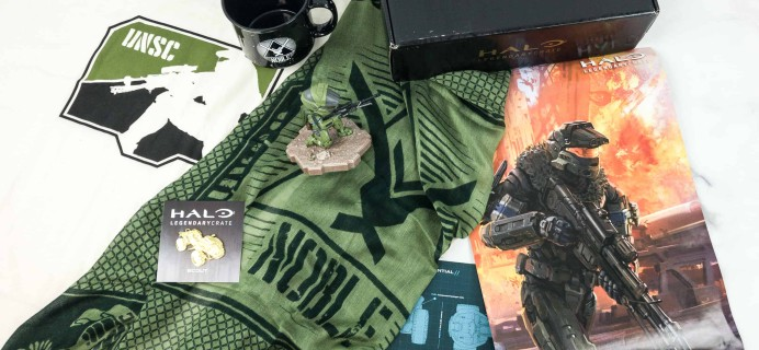 Halo Legendary Crate October 2018 Subscription Box Review + Coupon