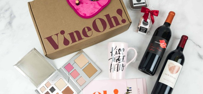 Vine Oh! Winter 2018 Subscription Box Review + Coupon