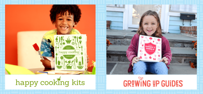 Kidstir Happy Cooking Kits + Kidstir Growing Up Guides Coupon: Get Free Bonus Pack with Annual Subscription! LAST CALL!